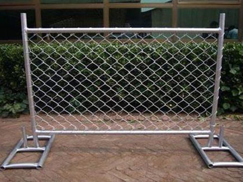 可移动临时隔离护栏网